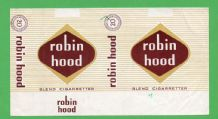 Collectable Old Sweden cigarette packet Robin Hood style #256